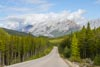 Road to Lake Maligne by Bruce Haanstra
